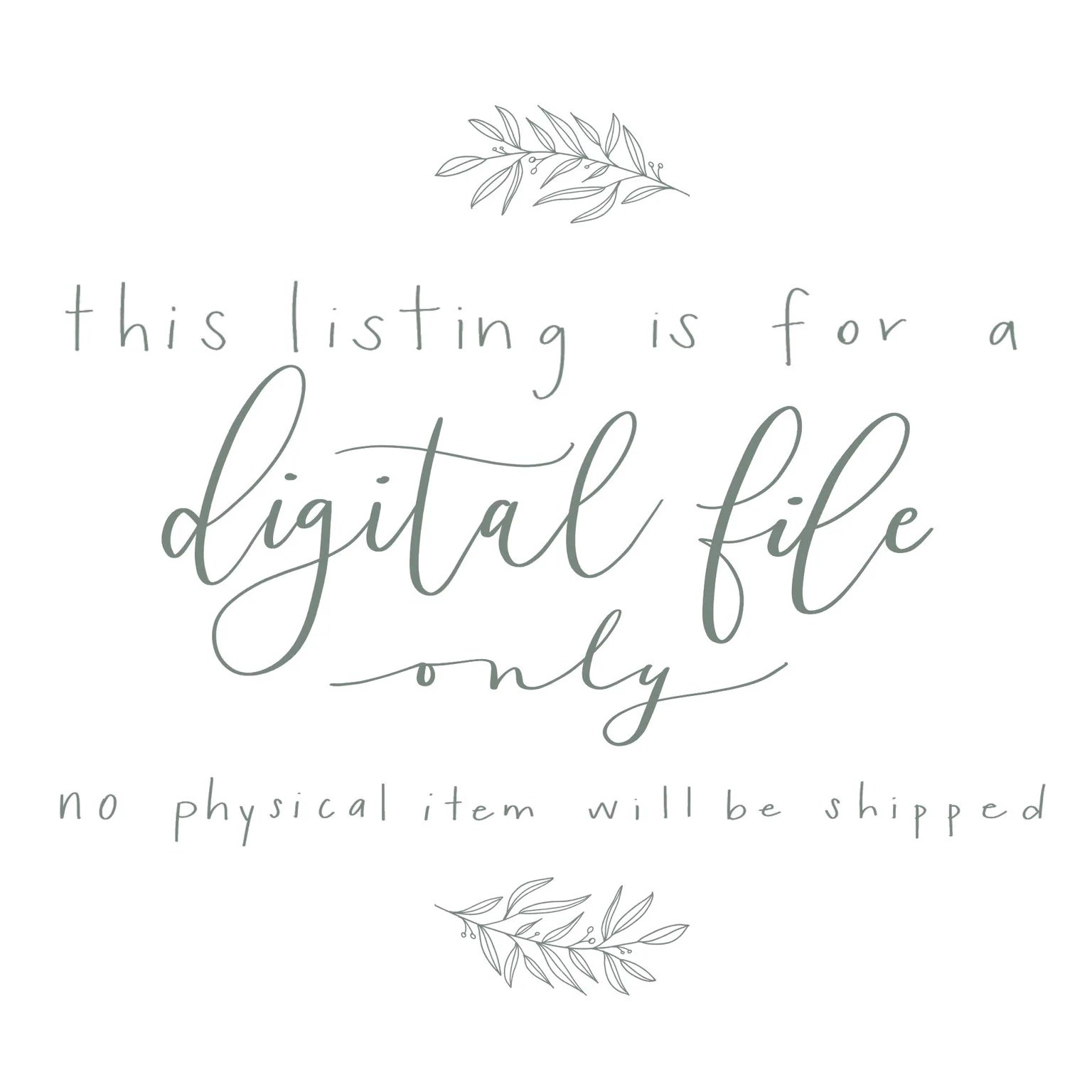 Digital Print Hand Lettered Bible Verse Isaiah 41:10