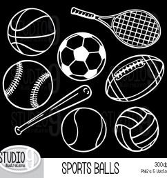 sports clip art white sports balls clipart sports download vector sports balls clipart [ 1500 x 1500 Pixel ]