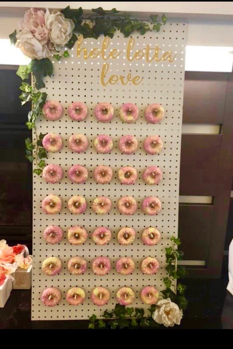 Download Hole Lotta Love Decal for Donut Board Donut Display | Etsy