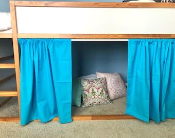 loft bed curtain etsy