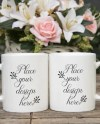 2 Mockup Mug Two Mugs Mock Up 2 Stock Blank Mugs Romantic Etsy