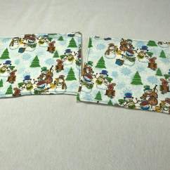 Kitchen Hot Pads Kraftmaid Cabinets Christmas Trivets Holiday Table Decor Office Party Gift White Elephant