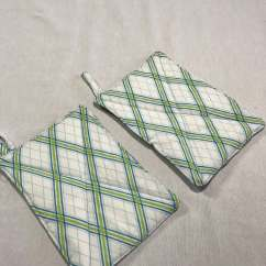 Kitchen Hot Pads Outdoor Storage Trivets Trivet Set Fabric Hostess Gifts White Elephant Office Party