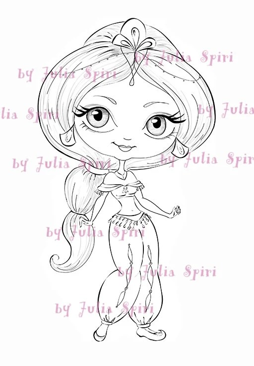 Jasmin Digi Stamps Digital stamps Coloring pages Line art