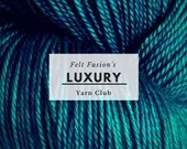 Hand dyed luxury yarn clu...