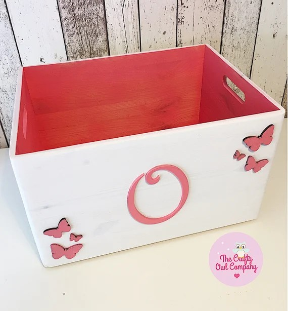 Personalized Toy Crate