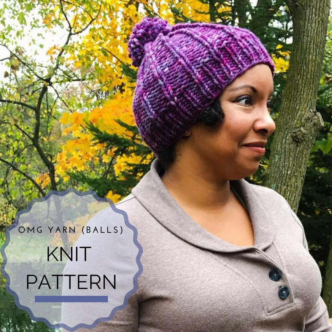 Knit Pattern - Hat - Bean...