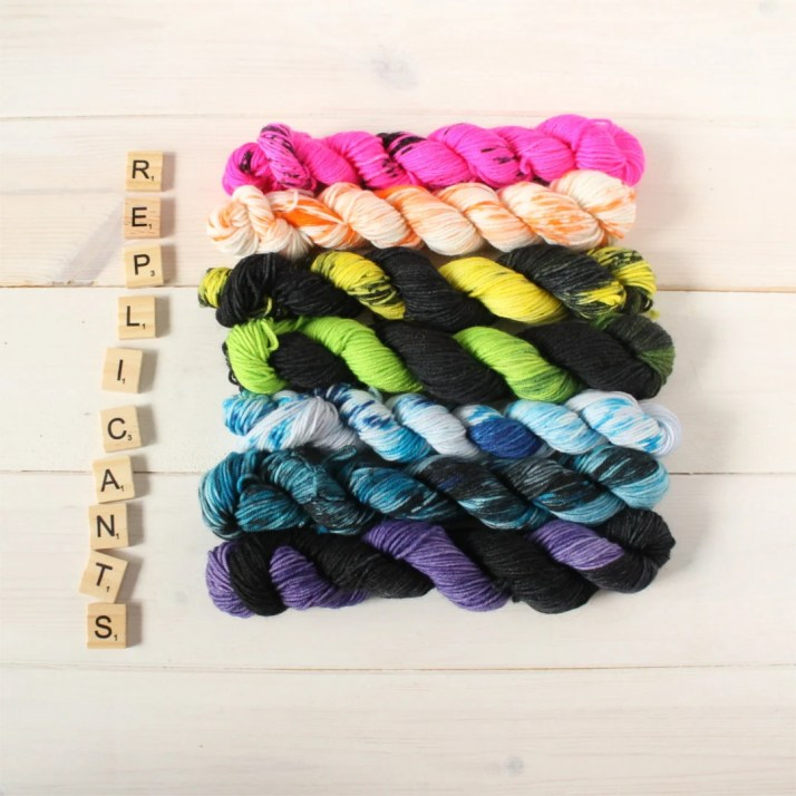 Indie dyed yarn - Replica...