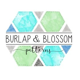 BurlapBlossomPattern Quilt Block and Quilt Patterns | Traditional Piecing