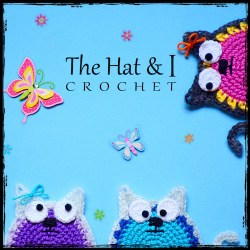 The Hat and I Crochet patterns for beautiful blankets, hats & more!