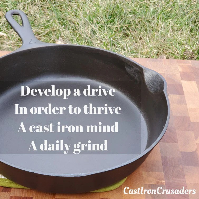 How To Grind Cast Iron Skillet