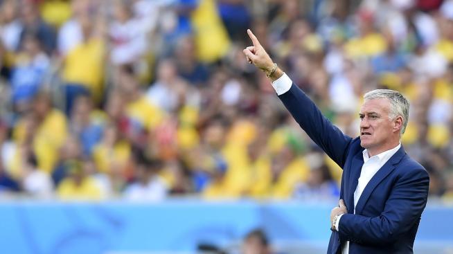 Didier Deschamps, sélectionneur de l'équipe de France en 2014