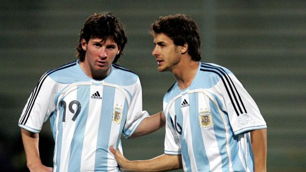 Messi e Aimar  Numerosette.eu