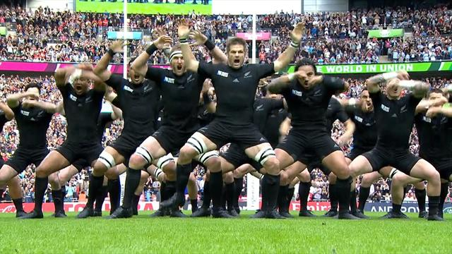 VIDEO  Gnsehaut in Wembley Neuseeland zelebriert den