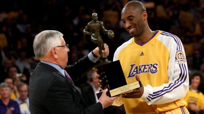 Kobe Bryant, MVP de la saison 2008