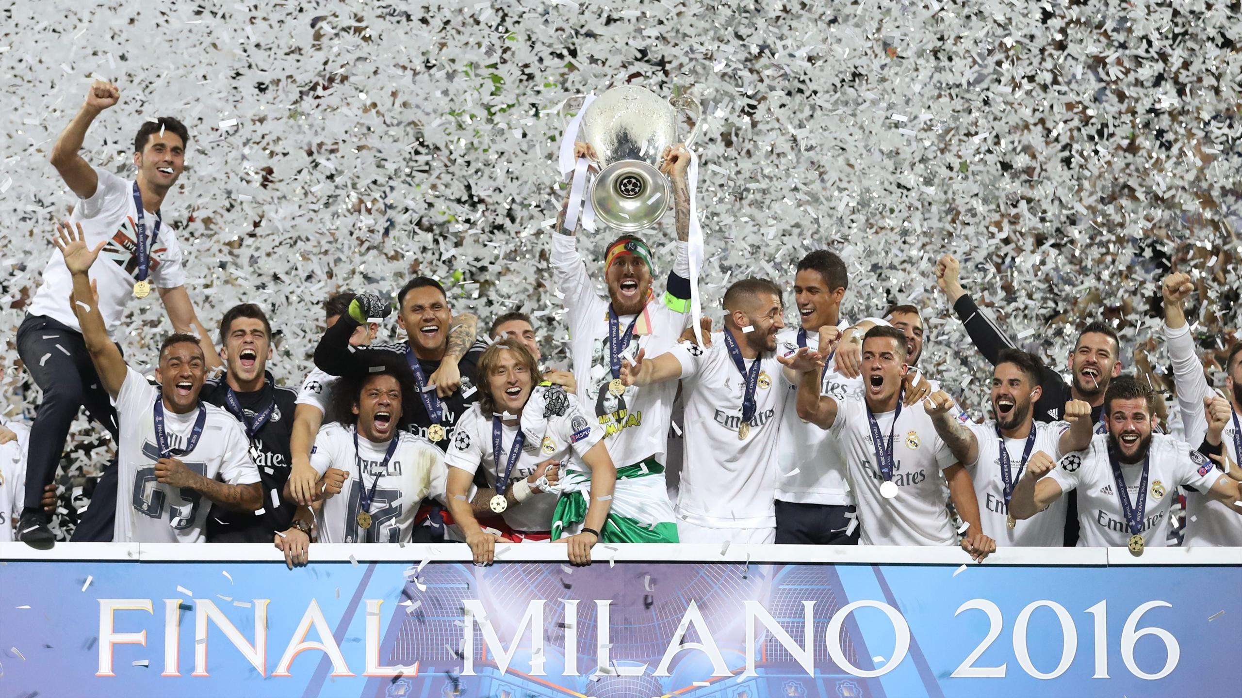 Real Madrid Were Crowned Champions Of Europe For The 11th Time After Beating Atletico In A Dramatic Penalty Shootout Milan