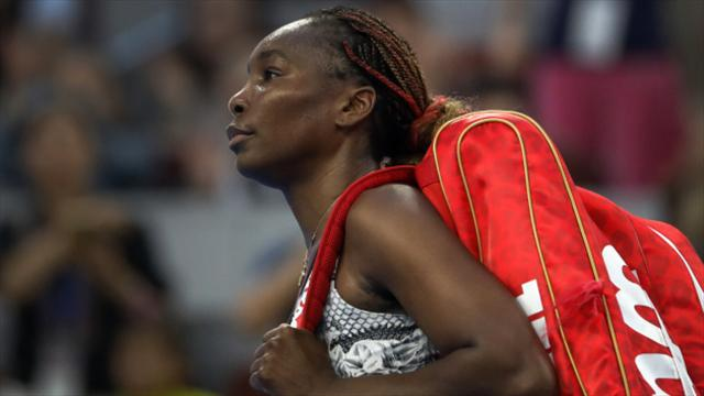 Image result for Venus Williams crashes out of China Open