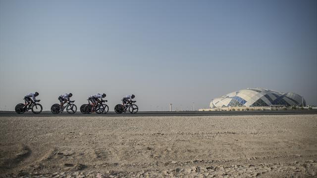 Resultado de imagen de aficionados mundial de ciclismo qatar