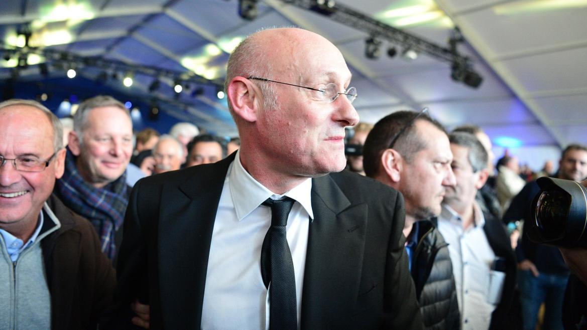 Bernard Laporte nouveau président de la FFR - 3 décembre 2016