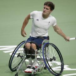 Wheelchair Emirates Office Chair Replacement Base Gordon Reid Out Of Australian Open Singles