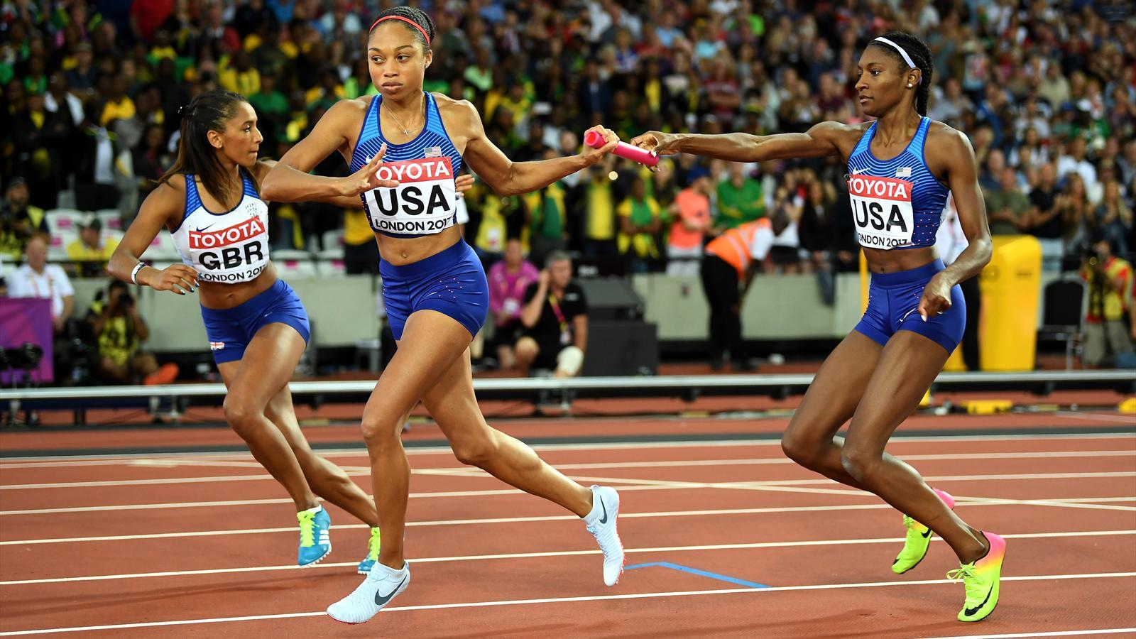 World Athletics 2017: USA reclaim 4x400m title and GB take silver as Jamaica suffer more injury woe - World Championships 2017 - Athletics - Eurosport