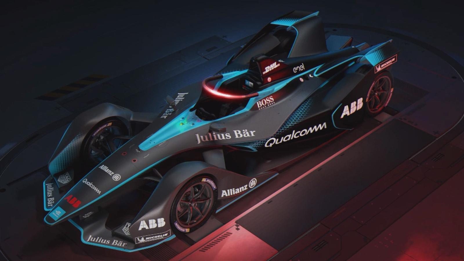 VIDEO  Formula E unveils futuristic new car for 201819
