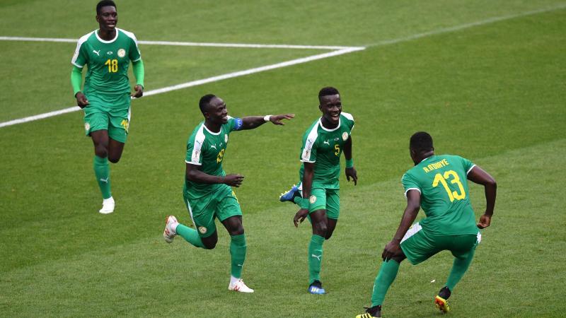 La joie des Sénégalais contre la Pologne