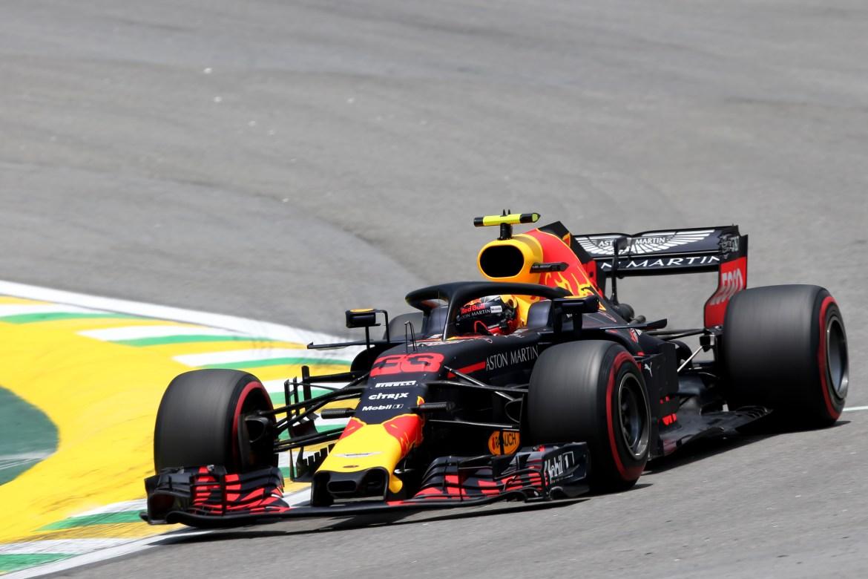 Max Verstappen (Red Bull) at the Brazilian Grand Prix of 2018
