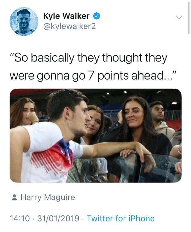 Harry Maguire Meme : harry, maguire, Football, Walker, Trolls, Liverpool, Harry, Maguire, Meme,, Swiftly, Deletes, Eurosport