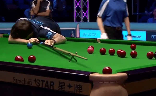 Video Is This The Worst Shot In Snooker History Or The