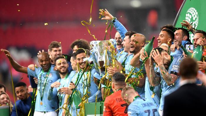 Risultati immagini per manchester city vittoria coppa di lega 2018/2019