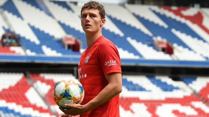 Benjamin Pavard sous le maillot du Bayern