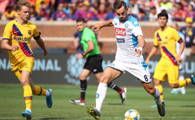 Napoli Umiliato 4 0 Barcellona Anche Se In America Non