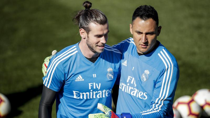 Gareth Bale et Keylor Navas (Real Madrid)