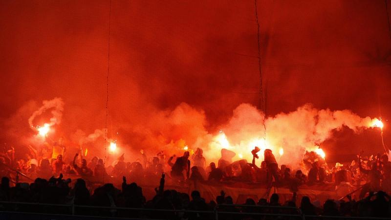 Les travées enflammées de Galatasaray