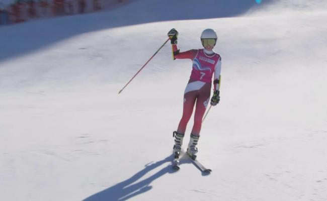 Video Rising Star Amelie Klopfenstein Wins Second Gold