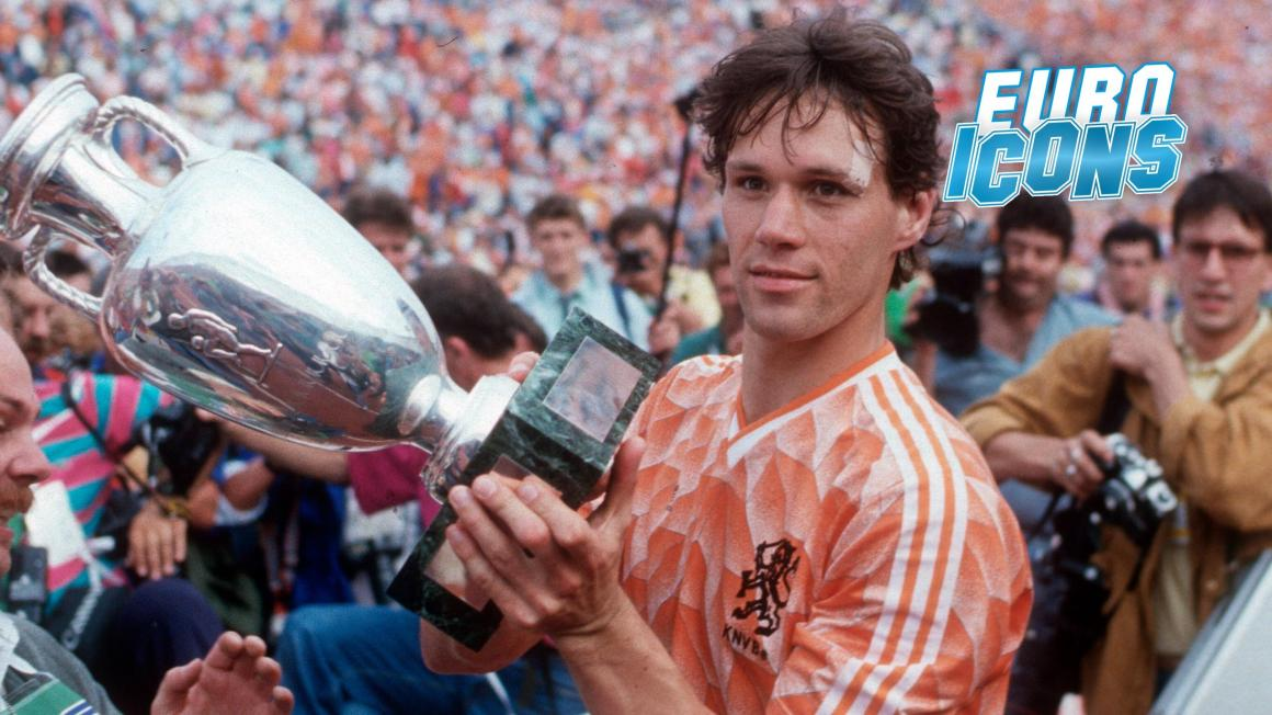 Euro Icons - 1988: Marco van Basten and Dutch delight - Eurosport
