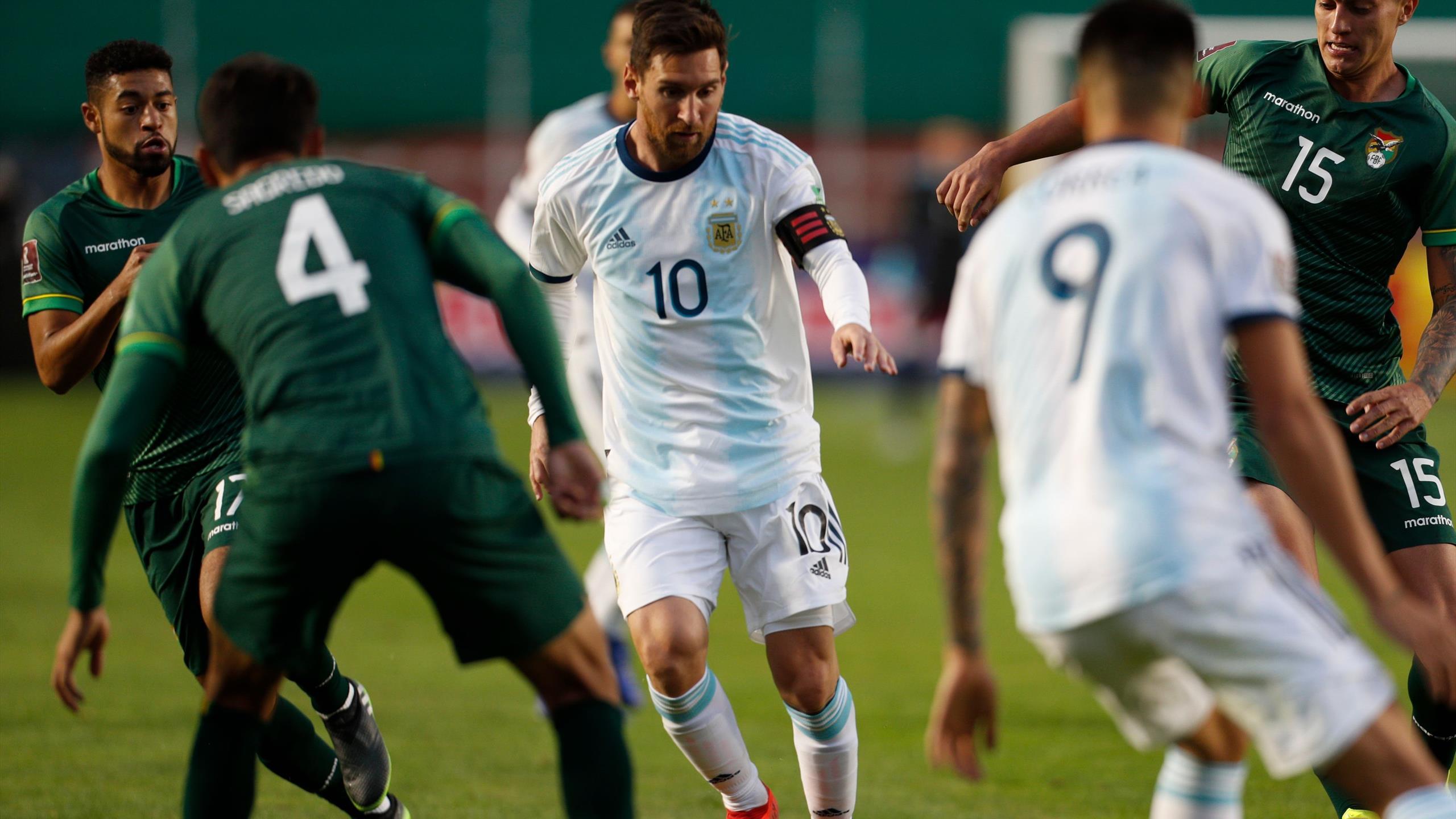 La grosse dispute entre Messi et les joueurs boliviens (vidéo) — Argentine