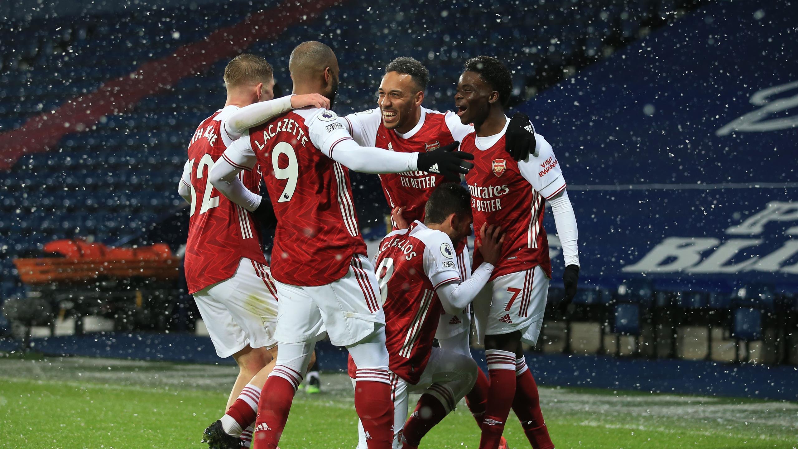 premier league result arsenal continue