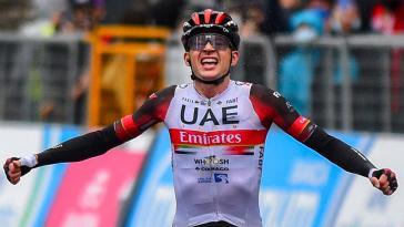 Première victoire en Grand Tour pour Dombrowski, De Marchi en rose : le résumé de la 4e étape