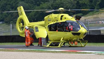 Grand Prix d'Italie : Le Suisse Jason Dupasquier «dans un état grave» après son accident
