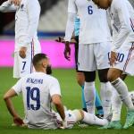 Blessé, Benzema est remplacé dès la 38e minute de jeu