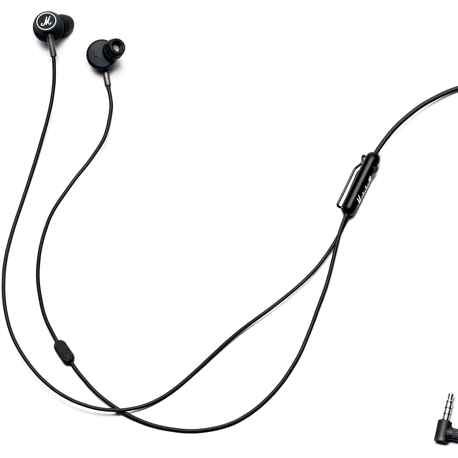 Marshall Mode Headphones With Microphone Black White