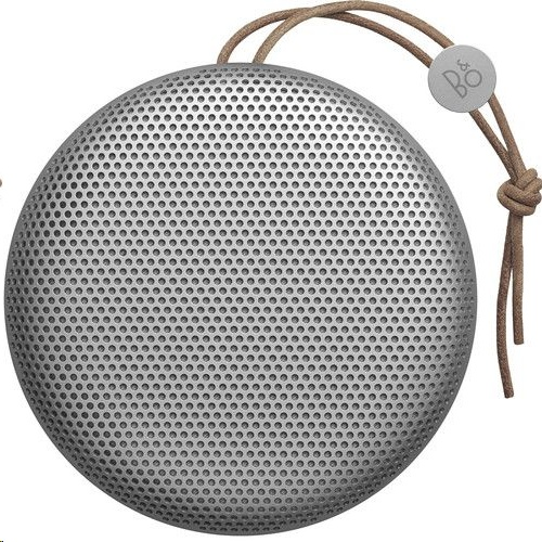 Bang & Olufsen B&O Beoplay A1 Portable Bluetooth Speaker (Silver) - EXPANSYS Singapore