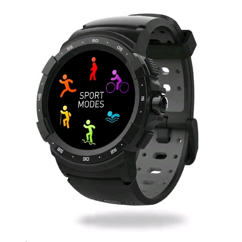 MyKronoz ZeSport 2 Smart Watch (Black) - EXPANSYS Taiwan