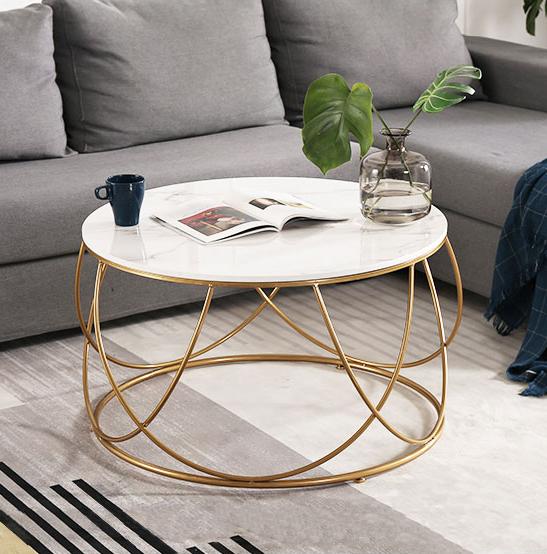 buy nordic simple marble coffee table