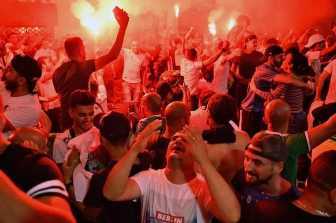 Rassemblement à Marseille.