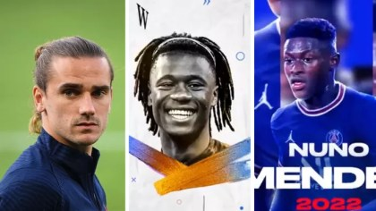 Griezmann, Camavinga, Nuno Mendes … the most recent transfers from the switch window