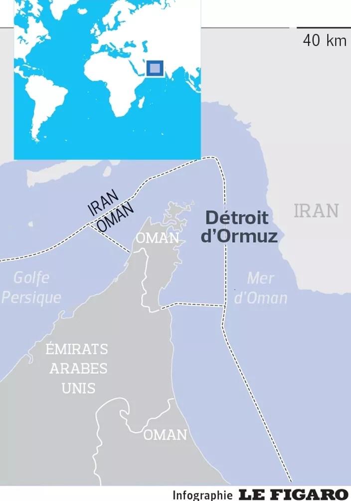 Détroit D'ormuz Carte Du Monde : détroit, d'ormuz, carte, monde, Détroit, D'Ormuz:, Washington, Téhéran, Ferraillent