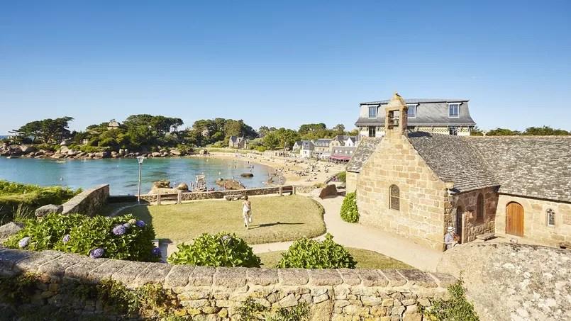 En Bretagne un village et sa plage qui font rver les vacanciers